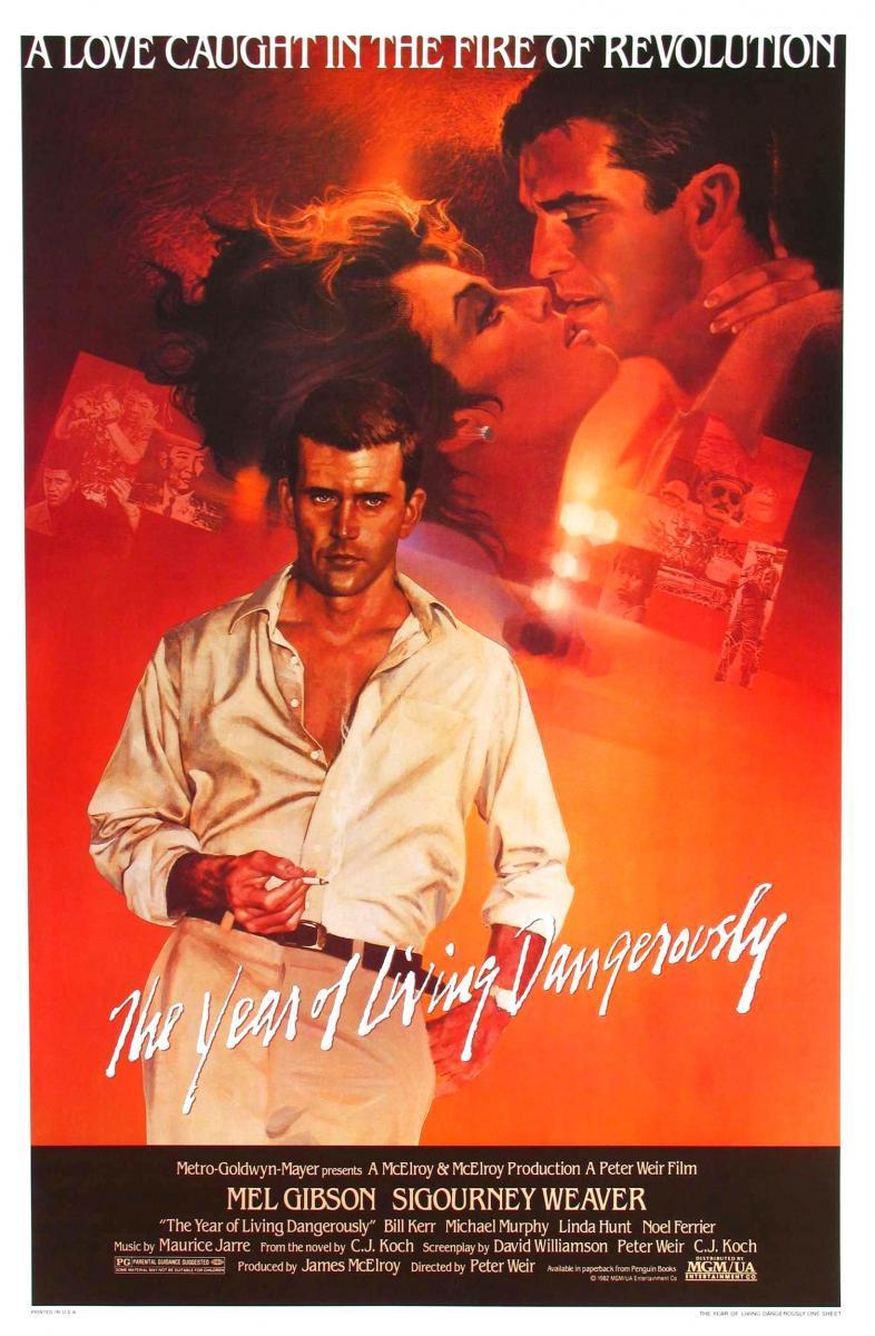 Mel Gibson en The Year of Living Dangerously