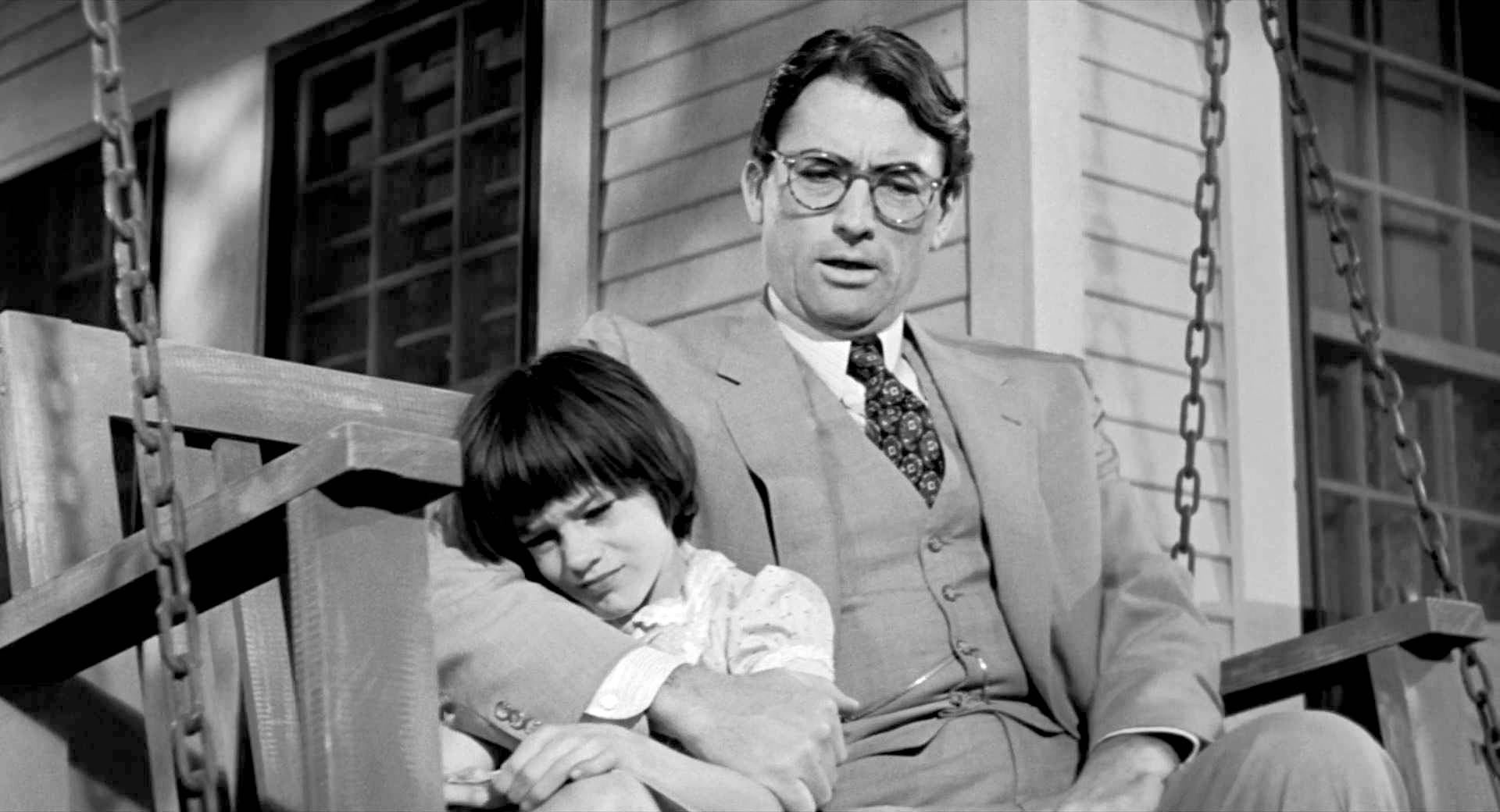 To Kill a Mockingbird - Atticus y Scott