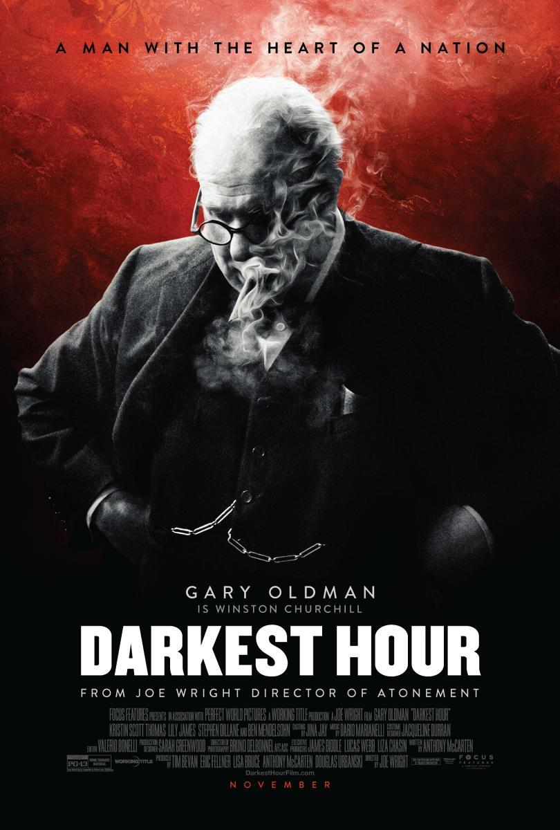 Darkest Hour (póster) - Gary Oldman