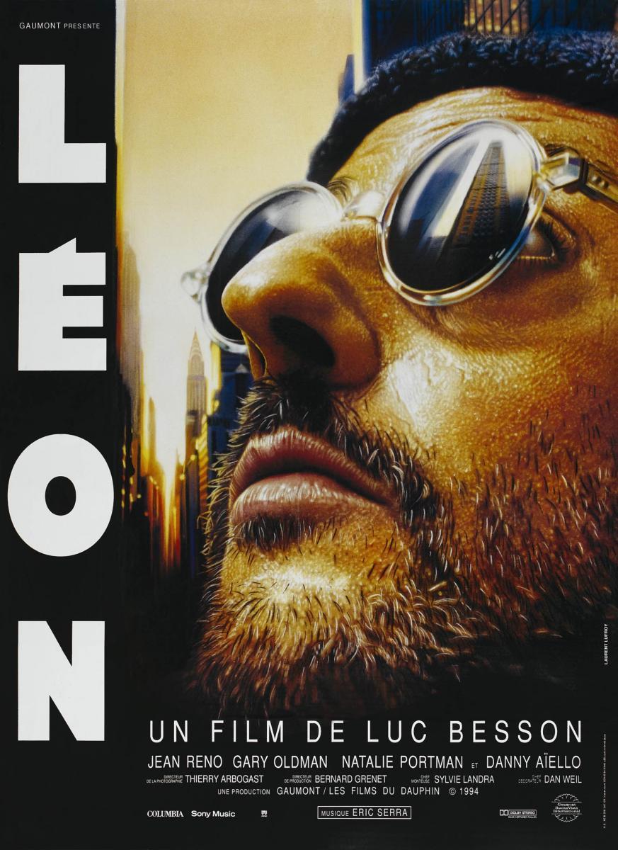 Léon (póster) - Gary Oldman