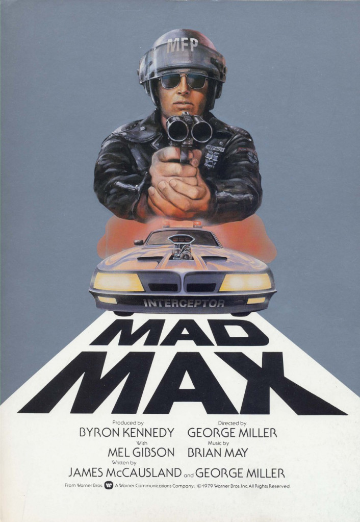 Mad Max Poster - George Miller