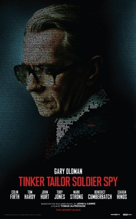 Tinker Tailor Soldier Spy (póster) - Gary Oldman