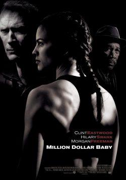 Morgan Freeman en Million Dollar Baby (póster)