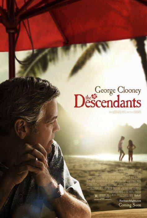 The Descendants (póster) - George Clooney