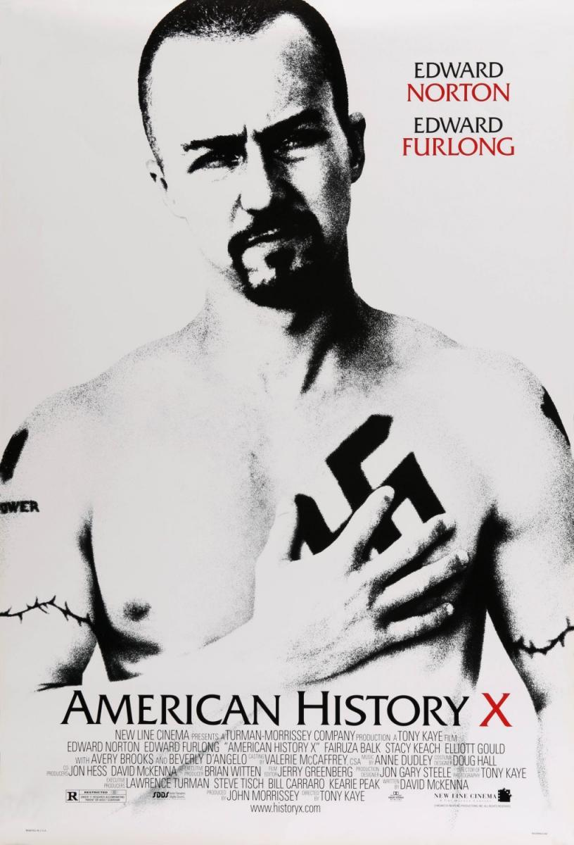 American History X (póster) - Edward Norton